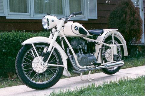 Custom BMW motorcycles R25
