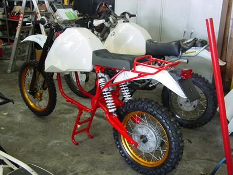 Custom BMW motorcycles Gs3